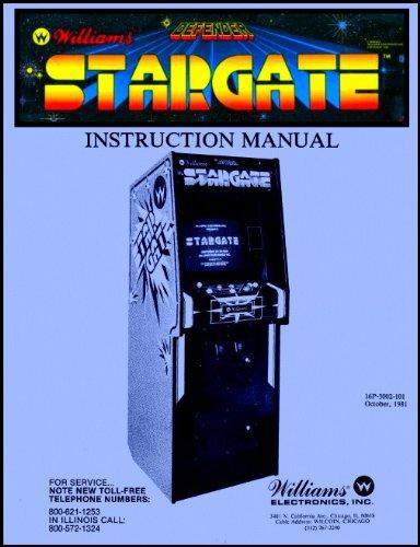 STARGATE ARCADE GAME SERVICE MANUAL STAR GATE