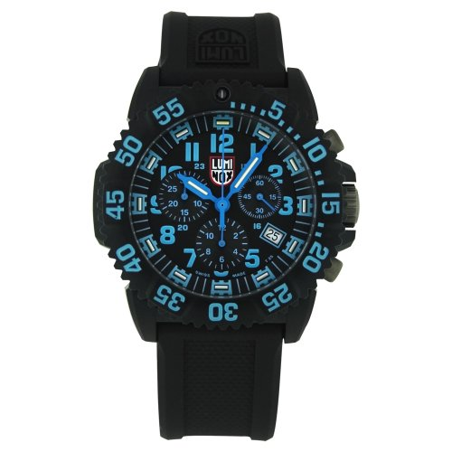 Luminox Men's 3083 Resin Analog Black Dial Watch