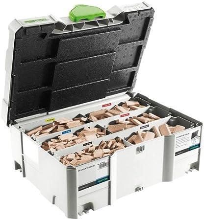 Festool 493300 Domino-D/übel Buche D 10 x 24 x 50 mm 510 St/ück