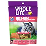 Whole Life Pet Just One-Single Ingredient Freeze Dried Treats for Cats Pure Salmon Fillet - 1oz