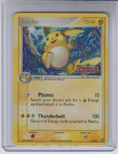 Raichu Holo Rare Pokemon #12 Photo