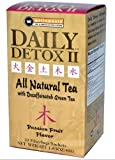 Daily Detox All Natural Tea, Decaffeinated Passion Fruit Green Tea, 30 Count