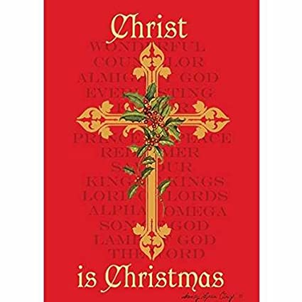 Amazon Com Christ Is Christmas African American Christmas Card