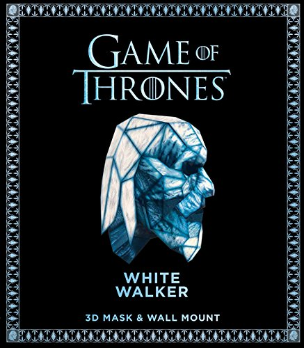 Game of Thrones Mask: White Walker (3D Mask & Wall Mount) ()