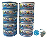 Deck Hand Wet Canned Adult & Kitten Cat Food Bundle 10 Cans/5 cans of Tuna/5 cans of Tuna & Shrimp w/Catnip & Toy