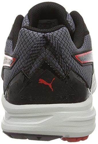 04 Puma periscope red Sneakers Uomo da Nero Schwarz Black Descendant TR wfZvT