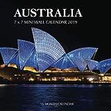 Australia 7 x 7 Mini Wall Calendar 2019: 16 Month Calendar