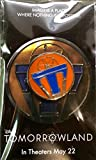 Tomorrowland PIN Disneyland Passholder Movie Preview Exclusive