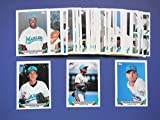 Florida Marlins 1993 Topps Baseball Master Team Set with Series 1, 2 and year-end traded cards (52 Cards) **Inaugural Year** Jack Armstrong, Geronimo Berroa, Greg Briley, Cris Carpenter, Chuck Carr, Scott Chiamparino, Jeff Conine, Jim Corsi, Henry Cotto, Steve Decker, Orestes Destrade, Carl Everett, Monty Fariss, Chris Hammond, Bryan Harvey, Travor Hoffman, Charlie Hough, Rob Natal, Scott Pose, Pat Rapp, Rich Renteria, Gary Scott, Gary Sheffield, Walt Weiss, Nigel Wilson and More**(Miami)