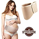 Maternity Belt - Breathable and Comfortable Belly Band For Women - Abdominal and Back Support - Adjustable Size Postpartum Belly Wrap