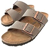 Birkenstock Arizona 'Narrow Fit' (Women's) Cork Footbed Sandals, Mocha, 41 N EU (10-10.5 N US Women)