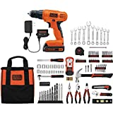 Black and Decker 20V Lithium Drill/Driver with 128-Piece Project Kit Review