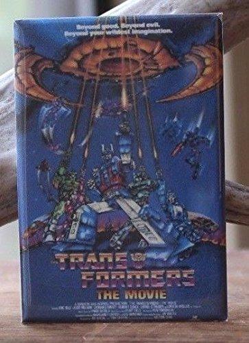 Transformers The Movie Poster - 2 X 3 Fridge / Locker Magnet