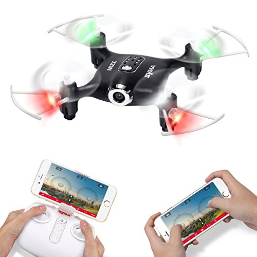 Syma-X21W-Wifi-FPV-Mini-Drone-With-Camera-Live-Video-LED-Nano-Pocket-RC-Quadcopter-With-GYRO-App-Control