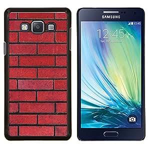 Stuss Case / Funda Carcasa protectora - Pattern Pared Red Rebel Ley Floyd - Samsung Galaxy A7 ( A7000 )