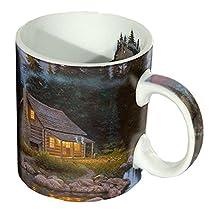 Reflective Art Inc Tranquility Boxed Coffee Mug, 16 oz