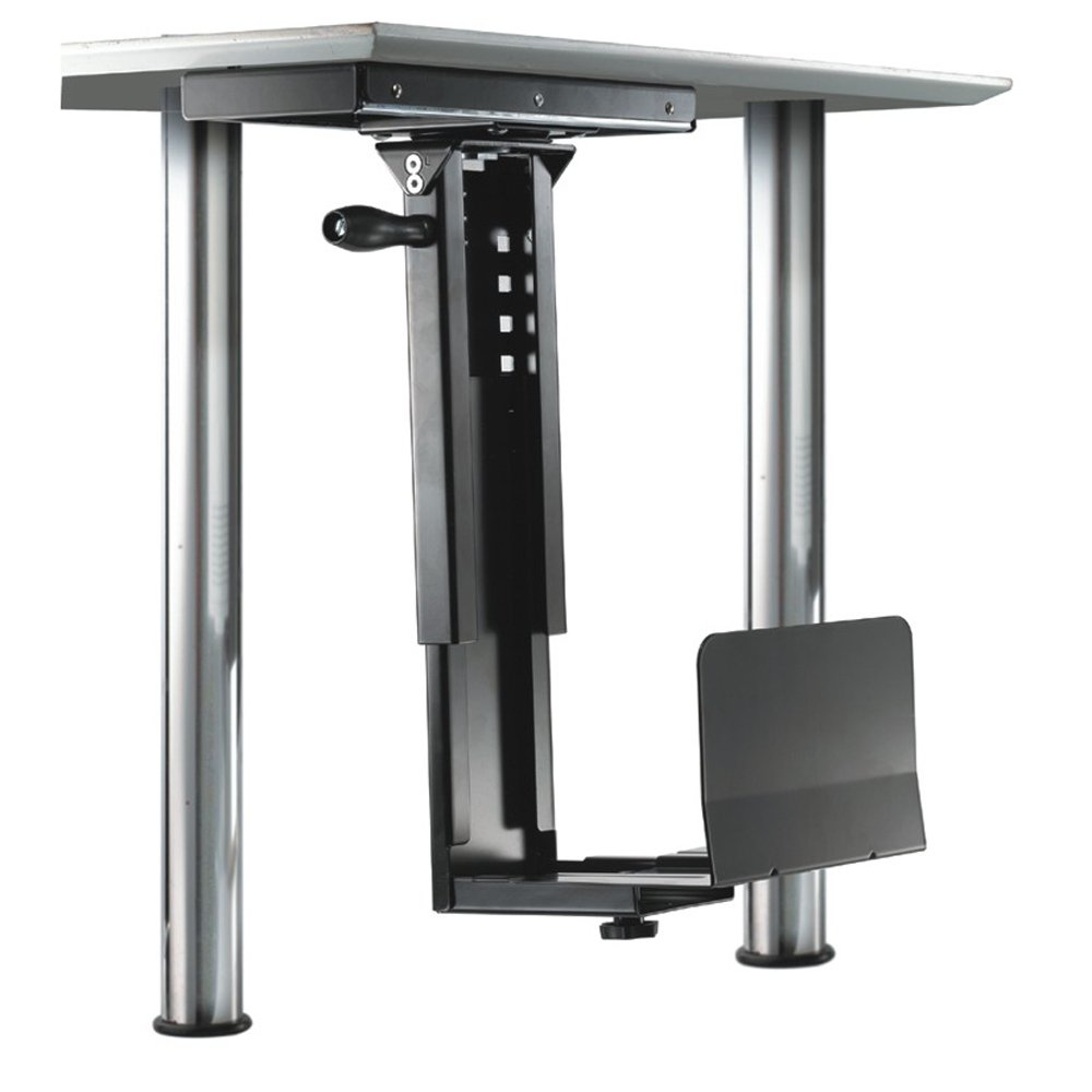 Newstar CPU-D250SILVER Desk-mounted CPU holder Argento supporto per CPU