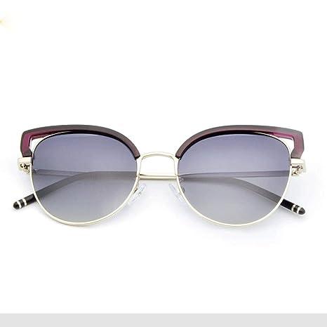 Heqianqian Mujer Gafas de Sol Cat Eye Polarized Women ...