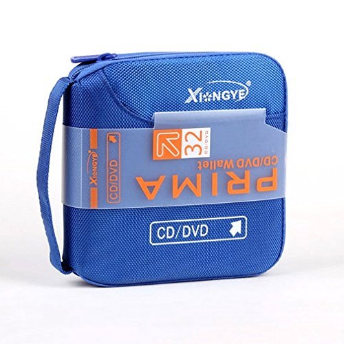 Used, HongYe 32 Disc Portable Storage Wallet - Blue for sale  Delivered anywhere in USA