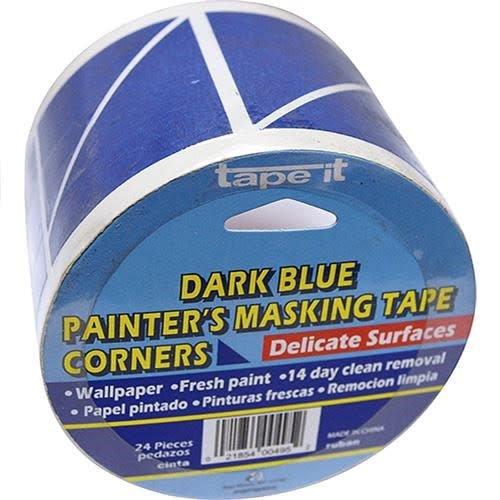 - Great Lakes Wholesale GLW Masking Tape, Blue