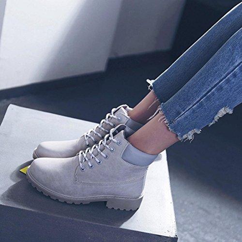 Mujer Botas Zapatos Nieve Señoras Zapatos E Botines de Corto G LMMVP Martín 41 Casual Faux Suave Antideslizante px5qC5