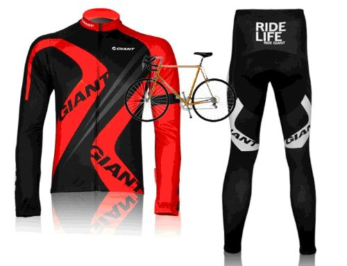 2012-giant-team-harness-long-sleeved-cycling-clothing-bike-clothing-breathable-perspiration-red-s