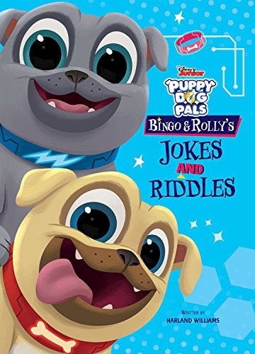 Puppy Dog Pals Bingo and Rolly's Jokes and Riddles (Disney Puppy Dog Pals)