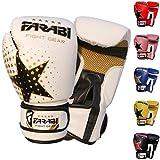 Kids boxing gloves junior boxing gloves junior MMA Muay thai kickboxing and punching bag mitts 6Oz