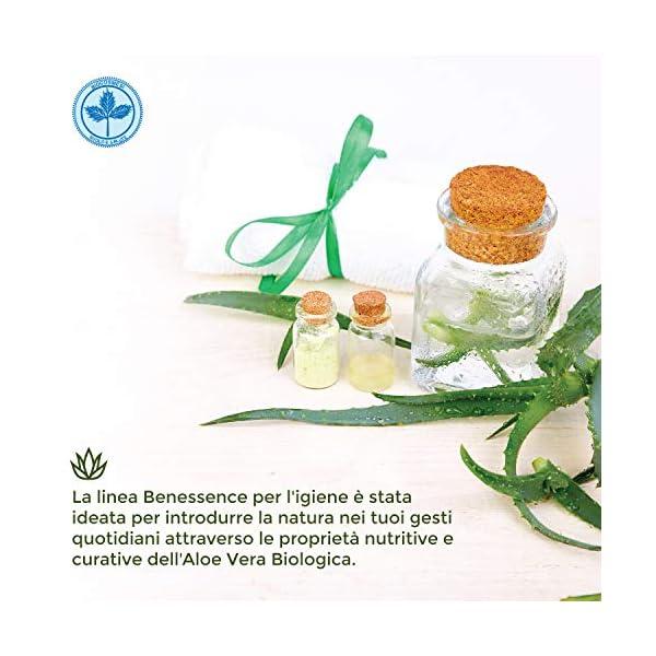 Benessence - Spray biologico Allontana Insetti e Zanzare con Aloe Vera - lenitivo da 250 ml 3 spesavip