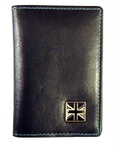 and Fold Wallet Black Jack Union Tyler Tyler Bill Leather 6Sx0d8