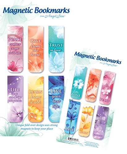 Angelstar 72471 Inspirational Magnetic Bookmark Set of 6, 2-1/2-Inch