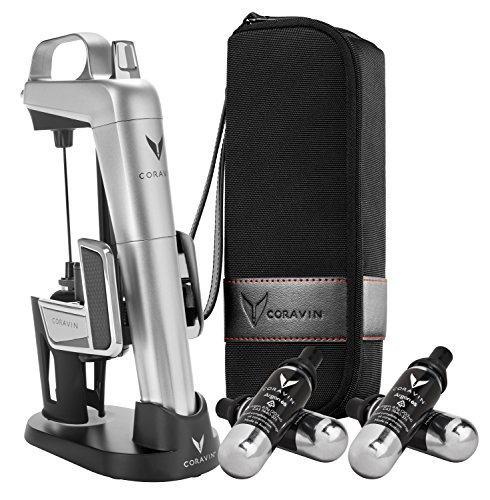 (Coravin Model Two Elite Pro Wine Preservation System, Silver)