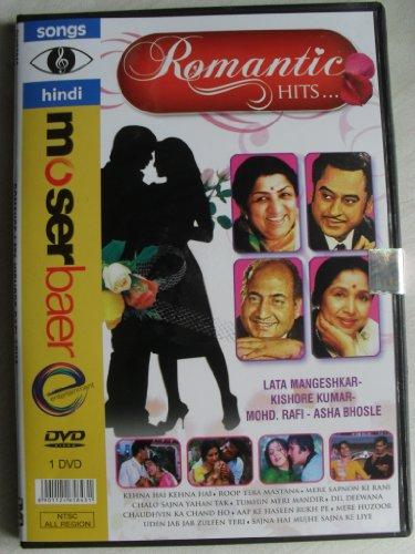 Romantic Hits - Lata Mangeshkar / Kishore Kumar / Asha Bhosle / Mohd. Rafi [NTSC] - 50 Video Songs DVD (Hits Of Mohd Rafi And Lata Mangeshkar)