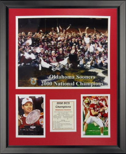 Legends Never Die 2000 Oklahoma Sooners National Champions Framed Photo Collage, 16