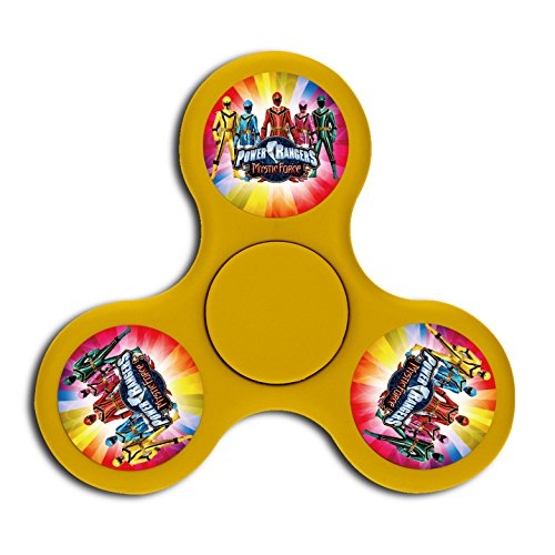 Power-Rangers Fidget Spinner Triangle Finger Safety Toys Peg-top High Speed Hand Fun For Adults and - Rangers Diy Power