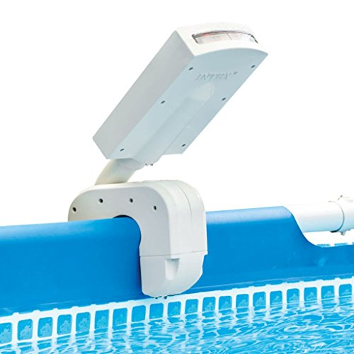 🥇 Intex 28089 – Cascada agua vertical con luces led multicolor piscinas 4 colores: Metal y Ultra Frame