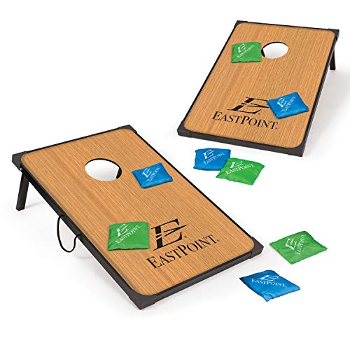 EastPoint Sports Cornhole Game Set Bean Bag Toss MDF - 2