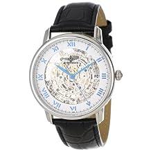 Breytenbach Men's BB7790Si Classic Analog Skeleton Watch