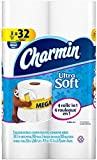 Charmin Ultra Soft Flushable Toilet Paper, 8 Mega Rolls - 308 Count Each ( 2,464 Sheets)