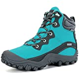XPETI Women's Dimo Mid Waterproof Trail Hiking Outdoor Boot Blue 6