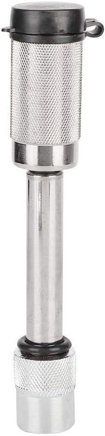 Hitch Fixier-Empf/änger Pin Hitch Sicherungsstift Rust-Proof Anti-Diebstahl-Sicherheit Reines Kupfer Schlie/ßzylinder f/ür Auto Anh/änger DEWIN Hitch Lock
