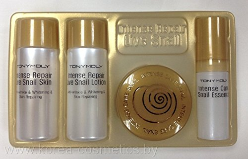 TONYMOLY Intense Repair Live Snail Gift Four Sets