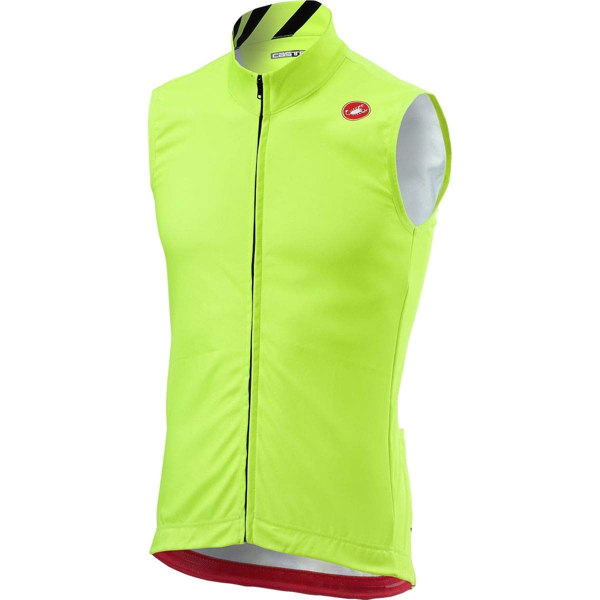 Castelli Thermal Pro Vest - Men's Yellow Fluo, XL by Castelli
