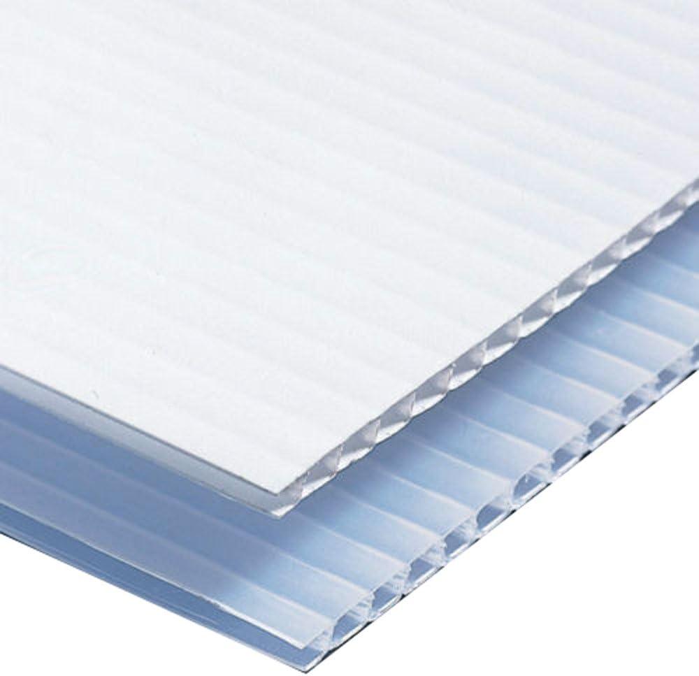 12 pack Corrugated Plastic Coroplast Sheets Sign 4mm Blue 24 x 48
