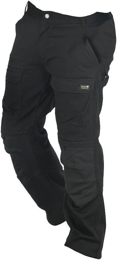 Deltaplus Pantalones De Trabajo Modelo Mach Originals Premium Hombre Caballero 3xl Negro Amazon Es Ropa Y Accesorios