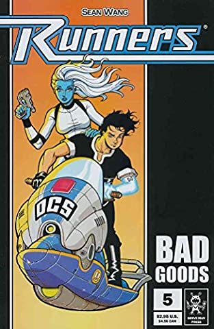 Runners: Bad Goods #5 VF ; Serve Man comic book (Bad Runner)