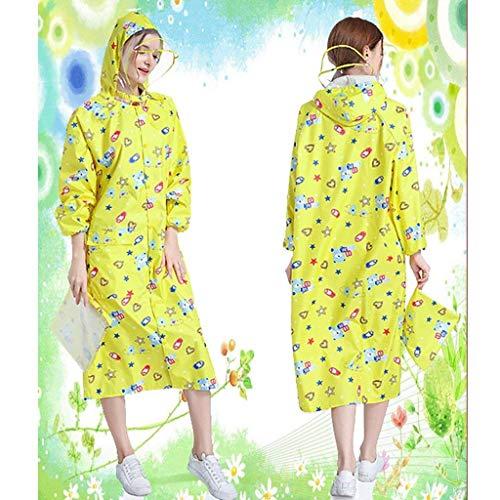 C Viaggio Cappello Aperta Ispessimento Di Impermeabile Moda All'aria Su Striscioni Inodore Outdoor Raincoat Frauenpu Poncho qPxTvw6Z