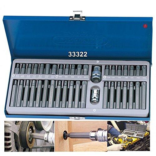 PH//PZ//SL//TX 05056653001 Wera Kraftform Kompakt 10 Bit-Holding Screwdriver /& Bit Set