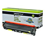 GREENCYCLE 1 Pack Yellow Toner Cartridge Compatible for HP 201A CF402A Color Laserjet Pro M252dw Laser Printer