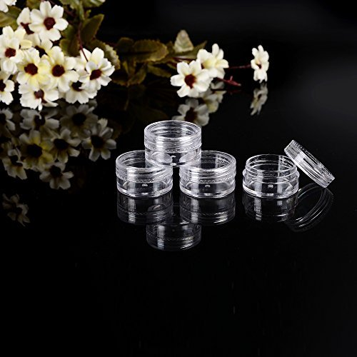 a3637283e369 60 PCs 5 Gram Empty Plastic Cosmetic Samples Container for - Import ...